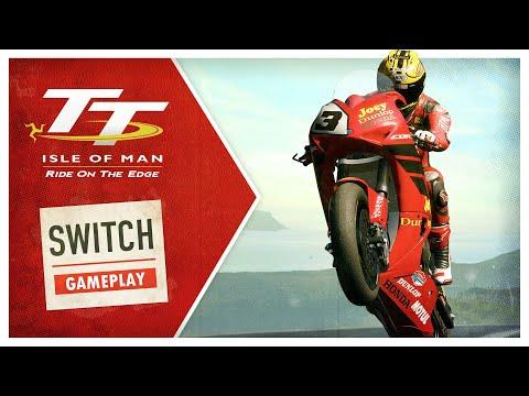 Симулятор смертельно опасных мотогонок TT Isle of Man выйдет на Switch в мае