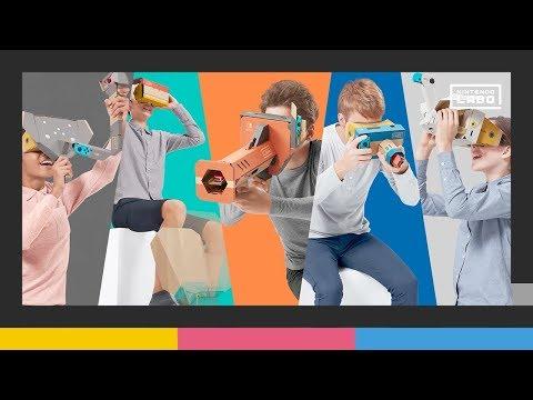 Релизный трейлер VR-набора для Nintendo Labo