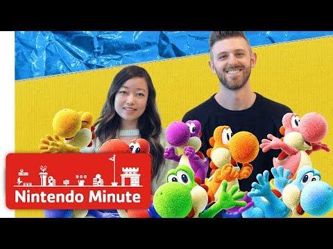 Видео кооперативного режима в Yoshi's Crafted World для Switch