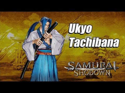 Трейлер мечника Укё Татибана из файтинга Samurai Shodown