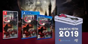 Bloodstained: Curse of the Moon выйдет на физических носителях для PlayStation 4, PS Vita и Switch